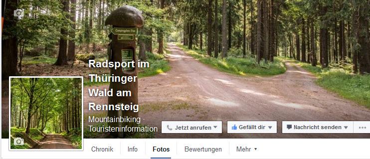 Radsport im Thüringer Wald am Rennsteig_facebook